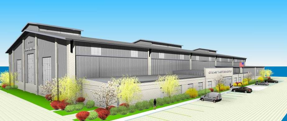 Chicago Yachting Center - Main Rendering
