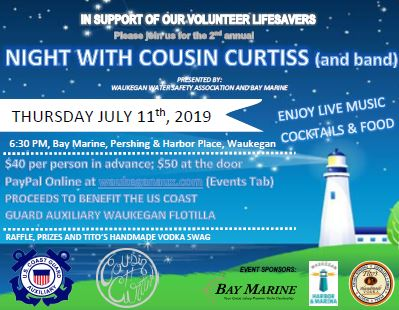 Fundraiser in Support of Volunteer Lifesavers