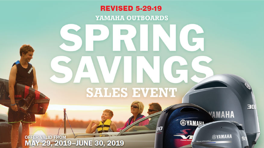 Yamaha Spring Sales Promotion Flyer